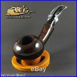 OUTSTANDING Mr. Brog original smoking pipe GAVIRATE brown Hand made in EU