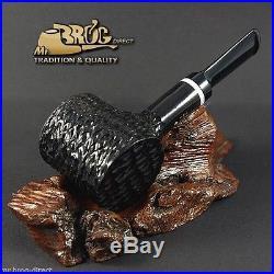 OUTSTANDING Mr. Brog original smoking pipe no. 62 black Hammer LUMBERJACK DWARF