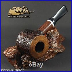 OUTSTANDING Mr. Brog original smoking pipe no. 62 brown Hammer LUMBERJACK DWARF