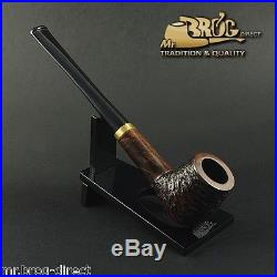 OUTSTANDING Mr. Brog original smoking pipe nr. 19 brown carved PBC LONDON