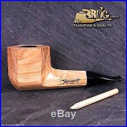 OUTSTANDING Mr. Brog original smoking pipe nr. 307 ACACIA ARCHITEKT UNIQUE