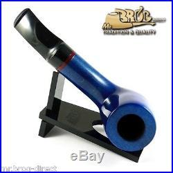OUTSTANDING Mr. Brog original smoking pipe nr. 51 blue smooth classic AMIGO