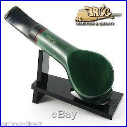 OUTSTANDING Mr. Brog original smoking pipe nr. 51 green smooth classic AMIGO