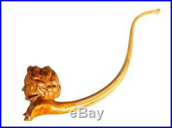 Oguz Simsek Briar Figural Smoking Pipe LUDWIG VAN BEETHOVEN No Meerschaum