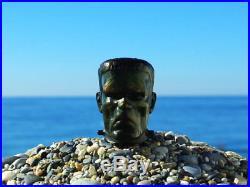 Oguz Simsek Briar Smoking Pipe Dr. Frankensteins Monster Frankenstein pfeife NEW