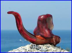 Oguz Simsek Briar Wood Figural Smoking Pipe JESSICA RABBIT meerschaum pfeife