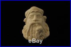 Old Man Smoking a Meerschaum Pipe of Himself by I. Baglan 8906