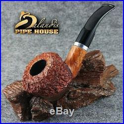Original BALANDIS Italian Briar Handmade Tobacco SMOKING PIPE ANCONA 88 ORAGNA