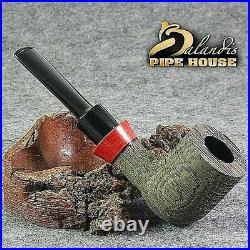 Outstanding D. BALANDIS Handmade Smoking Pipe BOG OAK Wood MORTA RANGUS REDIAN
