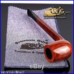 Outstanding Hand made Mr. Brog original smoking pipe nr 77 briar CANADIAN