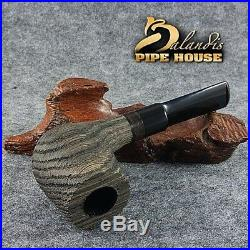 Outstanding TURKIEWICZ Handmade Smoking Pipe natural BOG OAK Wood MORTA KAURI