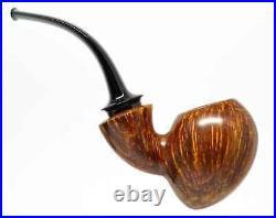 PIPEHUB Alexander Ponomarchuk Smooth Bent Acorn Smoking Pipe