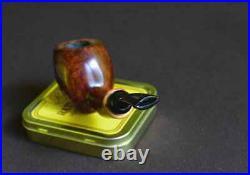 PIPEHUB Sergey Akimov Smooth Acorn with Olive Wood Smoking Pipe
