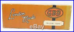 PIPEHUB Unsmoked! 1970's GBD Straight Grain Classic Billiard Smoking Pipe