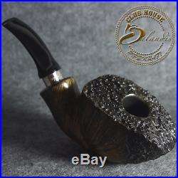 POLINSKI ITALIAN BRIAR PLATEAU FREEHAND smoking pipe FAN KENNIS AUTOGRAPH