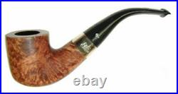 Peterson Aran 01 Nickel Mounted Full Bent F/T Smoking Pipe 3002K