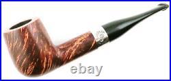 Peterson Aran 106 Nickel Mounted Straight Smoking Pipe P-Lip Stem 3015K-P