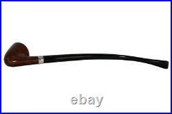 Peterson Churchwarden D15 Smooth Tobacco Pipe Fishtail