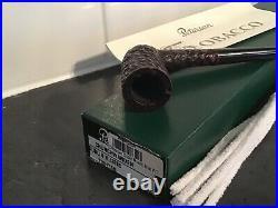 Peterson Churchwarden Dublin Rustic Tobacco Pipe Fishtail