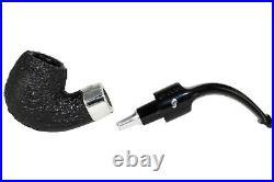 Peterson Deluxe System 20s Sandblast Tobacco Pipe PLIP