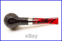 Peterson Dracula 107 Sandblast Fishtail Tobacco Pipe