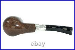 Peterson Flame Grain Spigot 68 Silver Cap Tobacco Pipe Fishtail