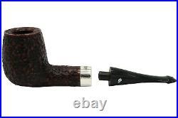 Peterson House Pipe Rustic Billiard Oak Tobacco Pipe PLIP