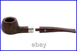 Peterson Irish Harp Sandblasted 406 Fishtail Tobacco Pipe (100-9885)