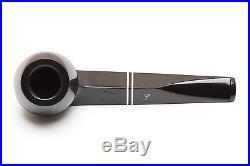 Peterson Killarney Ebony 150 Tobacco Pipe Fishtail