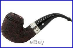 Peterson Sherlock Holmes Baskerville Sandblast Tobacco Pipe PLIP