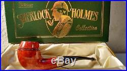 Peterson Sherlock Holmes Deerstalker Smooth Tobacco Pipe PLIP