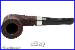 Peterson Sherlock Holmes Mycroft Rustic Tobacco Pipe PLIP
