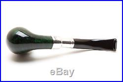 Peterson Spigot Green Spray 69 Smooth Tobacco Pipe Fishtail