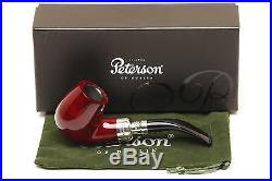 Peterson Spigot Red Spray XL90 Smooth Tobacco Pipe Fishtail