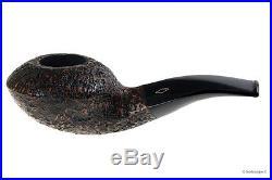 Pipa Brebbia Fat Bob 2114 Sabbiata filtro 9mm smoking pipe / pfeife