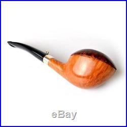 Pipa L'anatra Dalle Uova D'oro Due Uova Smoking Pipe Handmade Italy Briar Pfeif