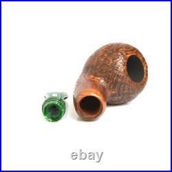 Pipa Radica Chacom Reverse Calabash Sabbiata Smoking Pipe Pfeipe Made In France