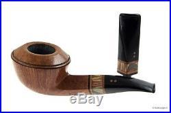 Pipa Radice Clear Wood F O Fiammata Elaborata (RA41) smoking pipe / pfeife