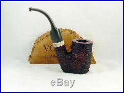 Pipa VOLKAN Antiqua rusticata oom paul hungarian Italia Tobacco Pipe pipa pfeife