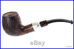 Pipa Viprati Sabbiata -Bent Billiard filtro 9mm (VI69) smoking pipe / pfeife
