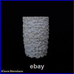 Poker Block Meerschaum Pipe, Smoking Pipe, Tobacco Pipa Pfeife AGovem CASE AG214