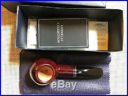 Rare Savinelli Joker Smooth (320 KS) (6mm) Tobacco Pipe + Filters