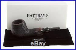 Rattray's Chubby Jackey Horn Tobacco Pipe Sandblast