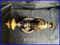 Raygun Smoking Pipe SpaceAge Steampunk Scifi Metal Gun Glass Alien Spaceman