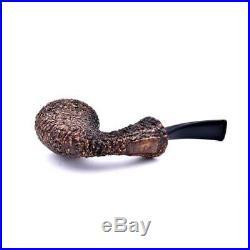 Reverse Calabash Rocciata Pipa Brebbia Radica Filtro 9mm Smoking Pipe Pfeife
