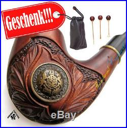 SARMAT / LANCELOT Tabak Pfeifen Pfeife Tobacco Smoking Pipe/Pipa + Geschenk