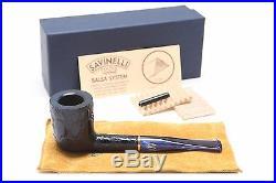 Savinelli Alligator Blue 412B Tobacco Pipe