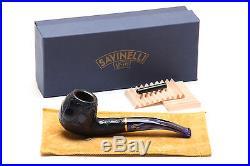 Savinelli Alligator Blue 626B Tobacco Pipe