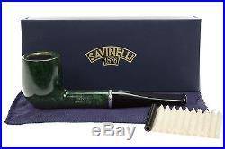 Savinelli Arcobaleno 111 Green Tobacco Pipe Smooth