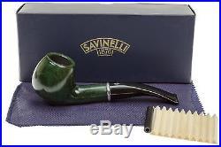 Savinelli Arcobaleno 626 Green Tobacco Pipe Smooth